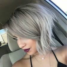 trendy gray hair styles 51 trendy bob haircuts to inspire your next cut haircuts bobs
