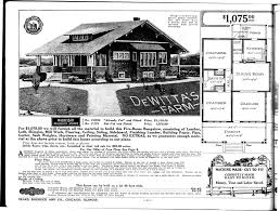 1920s Craftsman Home Design Extraordinary Sears Craftsman Home Plans 14 In Best Interior With