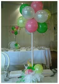 do it yourself balloon decorations balloon table centerpiece