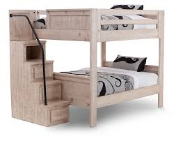 Bunk BedsBristol Valley Bunk Bed With StairsStack Up On Style - Furniture row bunk beds
