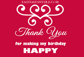 thank you for my birthday special images wallpapers