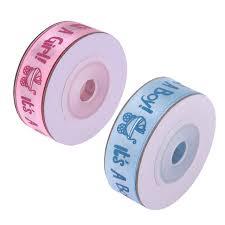 grosgrain ribbon belt 10yards roll ribbon it s a boy girl baby shower grosgrain ribbon
