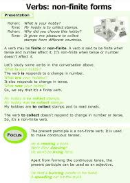 good grammar grade 7 grammar lesson 4 verbs non finite forms