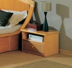 bureau en rotin chambre à coucher en rotin tête de lit et lit en rotin haut de gamme
