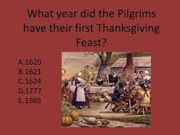 thanksgiving quiz ppt