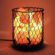 himalayan salt l basket homdox himalayan salt l natural air purifier salt rock light with