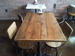 reclaimed wood restaurant table tops restaurant table tops reclaimed douglas fir restaurant tabletops