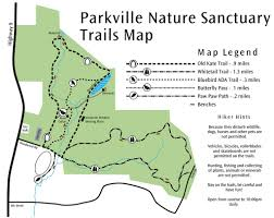 Bluebird Map Parkville Nature Sanctuary Maplets