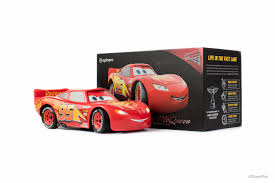 lighting mcqueen pedal car sphero and disney pixar put pedal to the metal with app enabled