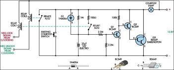 courtesy light extender circuit diagram