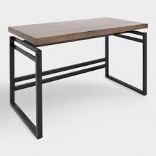 Metal Computer Desk Computer Desks Home Office Desks And Wood Desks World Market