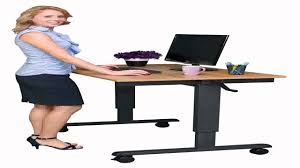 Adjustable Height Desk Crank by Stand Up Desk Store 48 Inch Crank Adjustable Height Stand Up Desk