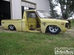 nissan frontier junkyard parts junkyard jewel chevy luv part 7 mini truckin u0027 magazine