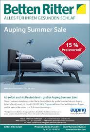 Online Shop K He Auping Summer Sale Betten Ritter Karlsruhe