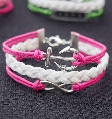 braided bracelet with charms images Infinity anchor bracelet tutorial handmade bracelets jewelry jpg