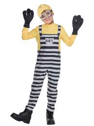 halloween on sale boys jail minion tom costume costume supercenter buy yours on sale
