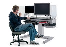 Ergonomic Desk by Perfect Ergonomic Home Computer Desk Deskcommendable Gaylon Office