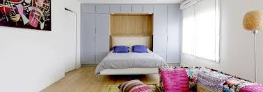 meuble chambre sur mesure duplex avec suite parentale transformable salle cinéma