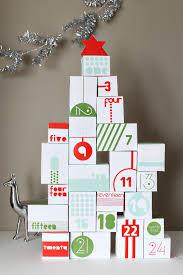 reversible advent calendar diy printable digital download