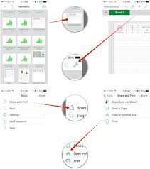 Numbers Spreadsheets How To Move Pages Numbers Or Keynote For Iphone And Ipad Files