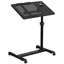 Black Computer Desk Amazon Com E Joy Mobile U0026 Compact Computer Cart Computer Desk