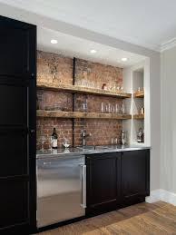 Laminate Flooring In Basement Kitchen Design Captivating Basement Bar Design Also Laminate