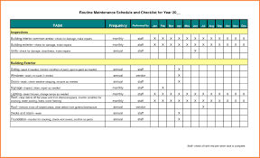 Inspection Checklist Template Excel Free Project Management Templates Planning Scheduling Tracking