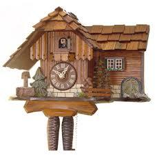 Cuckoo Clock Germany 1 Day Cuckoo Clocks Wind Daily Clockshops Com