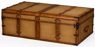 travel trunks images Buy antiqued steamer trunk style large coffee table online cfs uk jpg