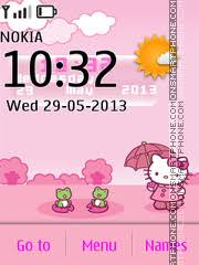 nokia 206 cute themes hello kitty themes for nokia 206