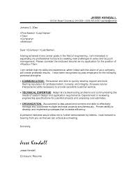 engineering cover letter format 9 sample free job for resumecover