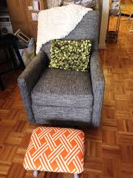 Upholstered Rocking Chair Nursery Reupholstering A Rocking Chair Design Home U0026 Interior Design