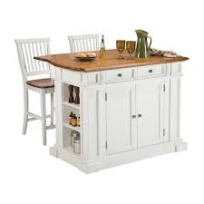 kitchen island cart with stools home styles large kitchen island set with 2 stationary stools