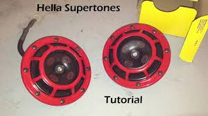 tutorial installing hella supertones on a 2006 subaru wrx sti