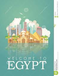 Wyoming Travel Icons images Egypt advertising vector cairo egyptian traditional icons in jpg