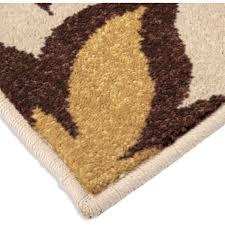 orian rugs indoor outdoor dicarna cream leaves area rug walmart com