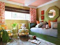 blue and orange room teenage bedroom color schemes pictures options ideas hgtv