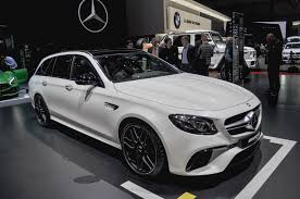lowered amg mercedes amg unveils 603 hp 2018 e63 s wagon