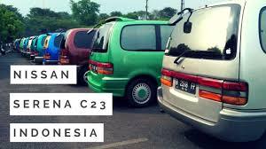 peresmian komunitas nissan serena c23 indonesia youtube
