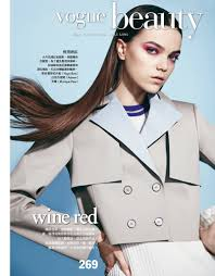 jenna earle rocks straight u0026 sleek hairstyles for vogue taiwan