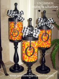 Halloween Apothecary Jars Boo