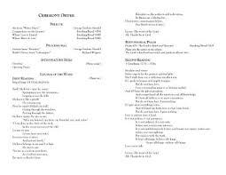 catholic mass wedding program template catholic wedding mass program carbon materialwitness co