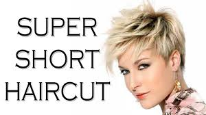 super short haircut women short hairstyles for women 2018 youtube