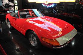 1972 daytona spyder 1972 365 gts 4 daytona spyder one of 120 built driven by