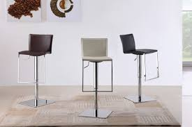 Furniture Wooden And Metal Counter by Furniture Black Leather Counter Height Bar Stool With Walnut