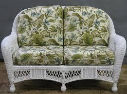 fresh wonderful outdoor wicker settee cushions 13083