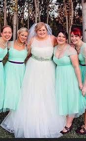 green bridesmaid dresses plus size mint green bridesmaid dresses hot sale a line tea length