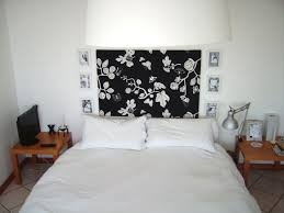 Grey Bedroom Wall Art Interior Decorations Stylish Floral Vinyl Sticker Wall Decal At