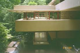 fallingwater pictures sunlight u0026 stairs flow downward from