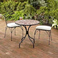 Mosaic Patio Table And Chairs Cadiz Mosaic Bistro Table Outdoor And Patio Furni